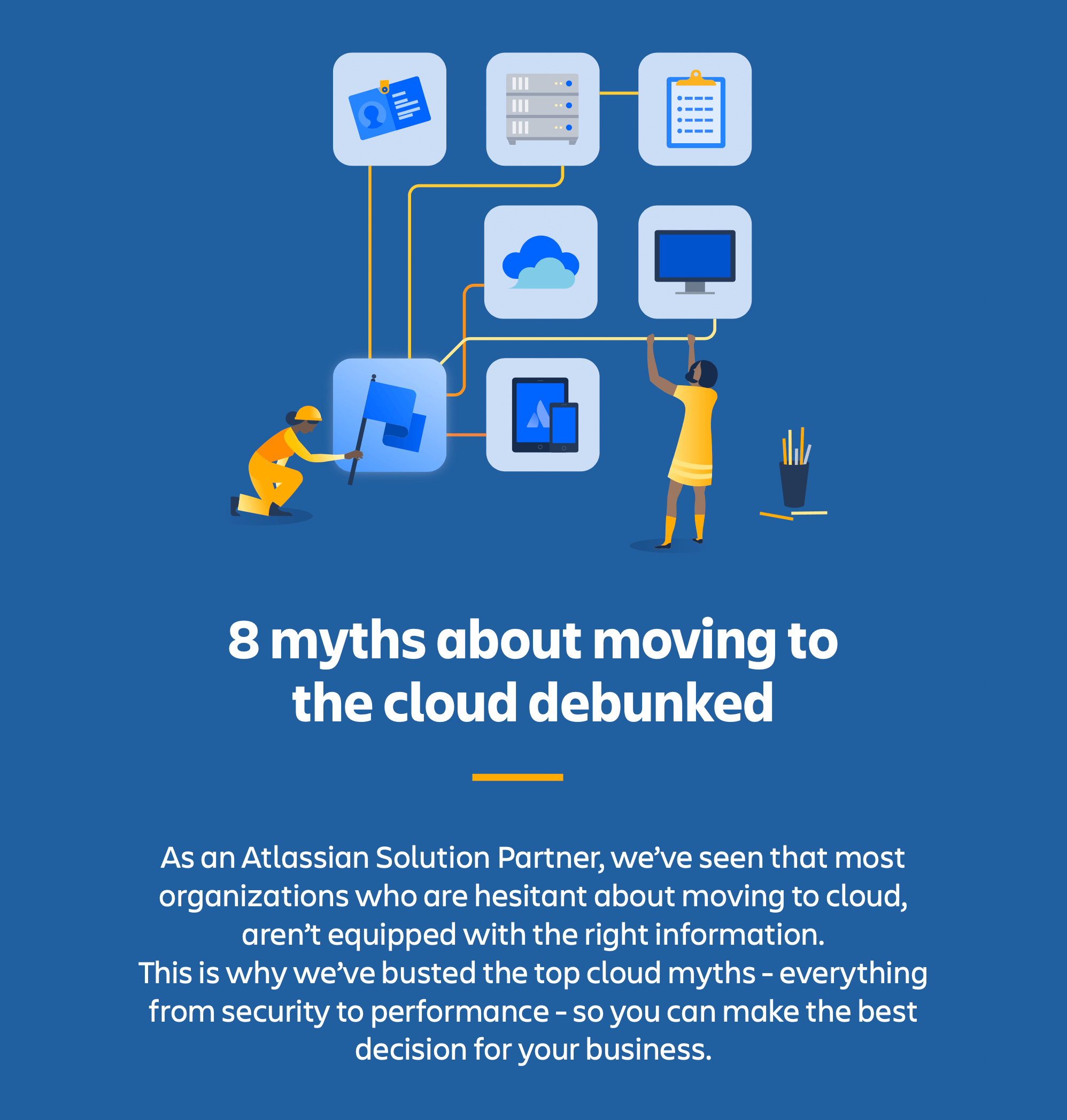8 myth about moving to the cloud debunked